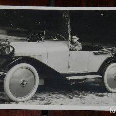 Postales: FOTO POSTAL DE AUTOMOVIL MATRICULA DE MADRID, FOTO SAMONTE, NO CIRCULADA.. Lote 144946382