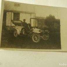 Postales: POSTAL FOTOGRAFICA COCHE CIRCA 1910. Lote 146504674