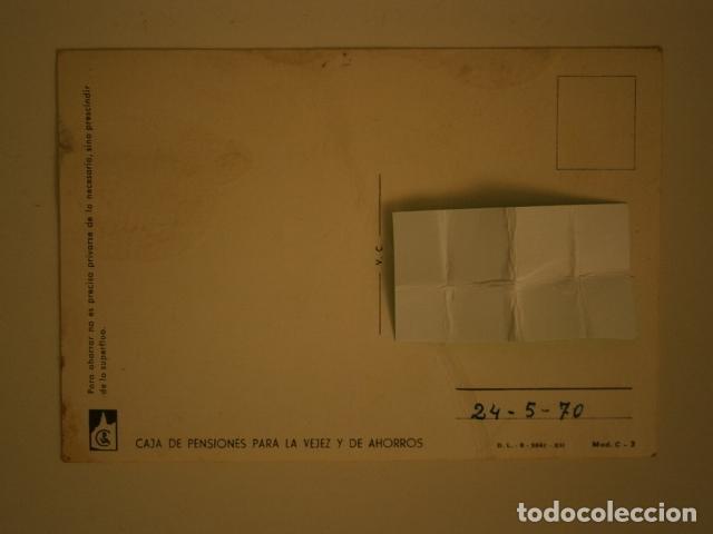 Postales: POSTAL CAJA DE PENSIONES PARA LA VEJEZ Y AHORROS - Foto 2 - 148159406