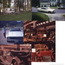 Postales: LOTE 57: 6 DIAPOSITIVAS COCHES AMERICANOS 1960S Y 1970S DIFERENTES MARCAS Y TAMAÑOS AUTOMÓVIL CAR. Lote 149814122