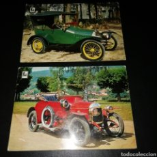 Postales: LOTE POSTALES COCHES. Lote 150493241