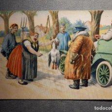 Postales: POSTAL - DIBUJOS Y CARICATURAS - SERIES 1140/6 - ESCRITA EN 1908. Lote 150595430