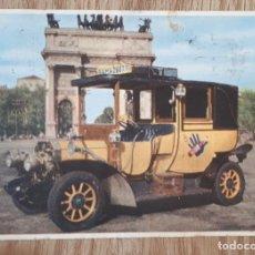 Postales: POSTAL 1950 PUBLICIDAD COCHE RAMAZZOTTI AÑO1905. Lote 150638322