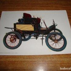 Postales: (ALB-TC-33) POSTAL TEMA COCHE COCHES NUEVA. Lote 152064450
