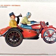 Postales: TARJETA POSTAL MUSEU DE JOGUETS I AUTÒMATS DE VERDÚ, SIN CIRCULAR. Lote 152460150