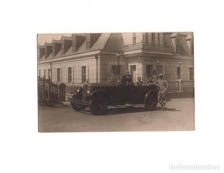 COCHE ANTIGUO. POSTAL FOTOGRÁFICA (Postales - Postales Temáticas - Coches y Automóviles)