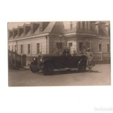 Postales: COCHE ANTIGUO. POSTAL FOTOGRÁFICA. Lote 155019434
