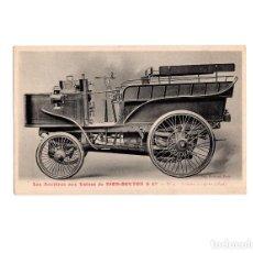 Postales: DION-BOUTON & CIA.- VEHÍCULO DE VAPOR 1892. Lote 155021110