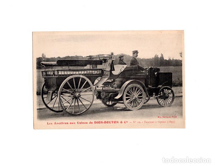DION-BOUTON & CIA.- TRACTOR DE VAPOR 1893 (Postales - Postales Temáticas - Coches y Automóviles)