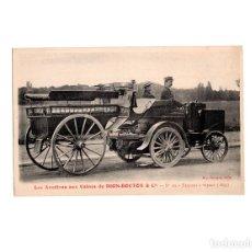Postales: DION-BOUTON & CIA.- TRACTOR DE VAPOR 1893. Lote 155021370