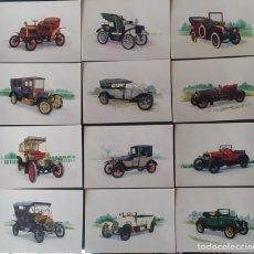 Postales: LOTE 12 POSTALES AUTOS ANTIGUOS. CASA EDITRICE CAPITOL. BOLOGNA. Lote 155656460