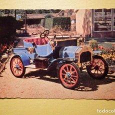 Postales: POSTAL COCHES DE ÉPOCA - CLÁSICOS - VETERAN CARS - J. SALMON LTD - HOLLAND - 1904 BRUSHMOBILE 6 H.P.. Lote 159012330