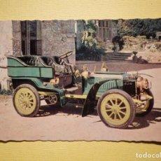 Postales: POSTAL COCHES DE ÉPOCA - CLÁSICOS - VETERAN CARS - J. SALMON LTD - DE DIETRICH PARIS-VIENA 1902. Lote 159170566