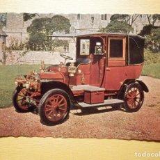 Postales: POSTAL COCHES DE ÉPOCA - CLÁSICOS - VETERAN CARS - J. SALMON LTD - UNIC TAXI 1908 12/14 H.P.. Lote 159170626