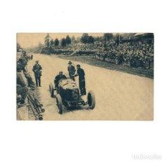 Postcards - GRAN PREMIO DE EUROPA 1925.(CIRCUITO DE SPA). CAMPARI EN EL MOMENTO DE LLEGAR. ALFA ROMERO. - 160360854