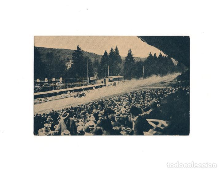 GRAN PREMIO DE EUROPA 1925.(CIRCUITO DE SPA). CAMPARI EN EL MOMENTO DE LLEGAR. ALFA ROMERO. (Postales - Postales Temáticas - Coches y Automóviles)