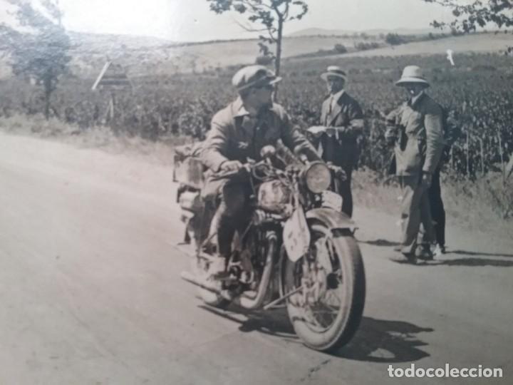 Postales: MOTOCICLETA CARRERA POSTAL FOTOGRÁFICA ESPAÑA SIN IDENTIFICAR AÑOS 30 - Foto 2 - 160617978