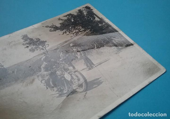 Postales: MOTOCICLETA CARRERA POSTAL FOTOGRÁFICA ESPAÑA SIN IDENTIFICAR AÑOS 30 - Foto 4 - 160617978