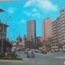 Postales: GIJON CALLE DEL PALACIO VALDÉS COCHES AUTOBUSES. Lote 160658274