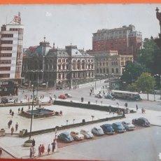 Postkarten - Oviedo plaza Generalisimo foto coches epoca - 160672204