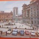 Postales: 1966 OVIEDO PLAZA GENERALISIMO FOTO COCHES EPOCA. Lote 160672418