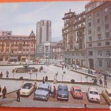 Postkarten - 1966 Oviedo Plaza Generalisimo foto coches epoca - 160672418