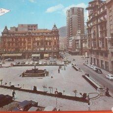 Postkarten - Oviedo Plaza Gereneralisimo foto coches epoca - 160672646