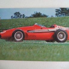 Postales: 1955-57 MASERATI 250F POSTAL, COCHE AUTOMOVILISMO O FORMULA 1. F1, POSTCARD THE DONINGTON COLLECTION. Lote 161187462