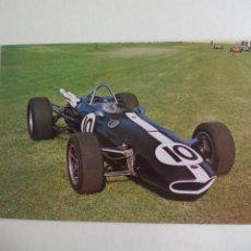 Postales: 1966 EAGLE-CLIMAX T2G POSTAL COCHE AUTOMOVILISMO O FORMULA 1 F1 POSTCARD THE DONINGTON COLLECTION. Lote 161187658