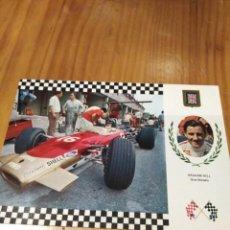 Postales: POSTAL LOTUS F1 DE GRAHAM HILL. Lote 163588898