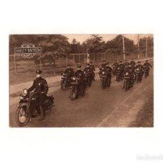 Postales: MOTOR CYCLES. HARLEY DAVIDSON. AUTOLOCOMOCIÓN. BARCELONA.. Lote 165547398
