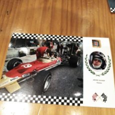 Postales: LOTUS 49 MK2 DE FORMULA 1 DE JACKIE OLIVER. Lote 166648998
