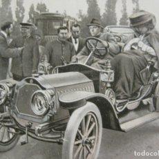 Postales: REY ALFONSO XIII-CONDUCIENDO UN COCHE-REY DE ESPAÑA-VER FOTOS-(60.761). Lote 168745992