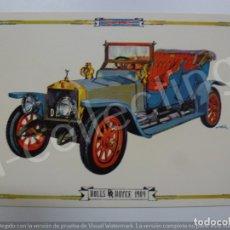Postales: POSTAL. ROLLS ROYCE 1909. 8042/D. RAKER. NO ESCRITA. . Lote 171016864