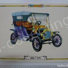Postales: POSTAL. FORD T 1908. 8042/BD. RAKER. NO ESCRITA. . Lote 171016955