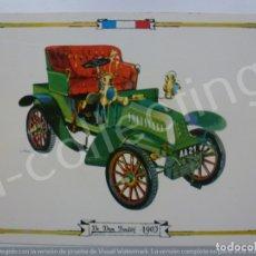 Postales: POSTAL. DE DION BOUTON 1903. 8042/A. RAKER. NO ESCRITA.. Lote 171017325