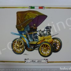 Postales: POSTAL. FIAT 1899. 8049/A. RAKER. NO ESCRITA.. Lote 171017442