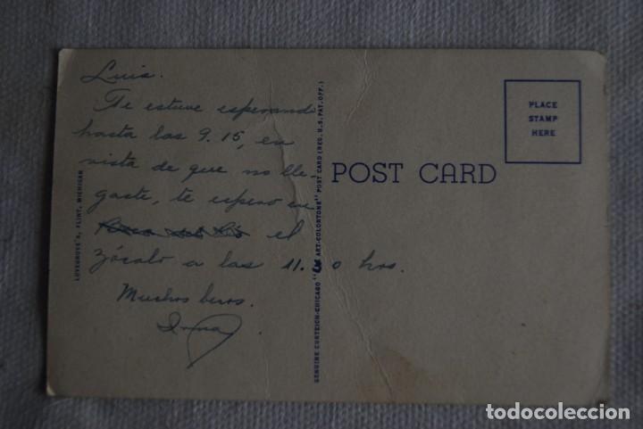 Postales: VISTA AEREA FABRICA BUICK MOTOR CO COCHES EEUU - Foto 2 - 171102489