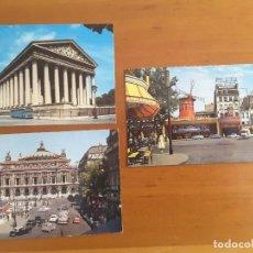 Postales: LOTE TRES POSTALES - PARIS. Lote 171196628