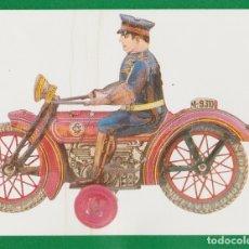 Postales: POSTAL MOTO SAN JUAN Y CIA, MUSEO VALENCIANO DEL JUGUETE - IBI - S/C. Lote 171514138