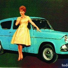 Postales: FORD ANGLIA - ANOS 1961 - POSTAL ILUSTRADO. Lote 172657089
