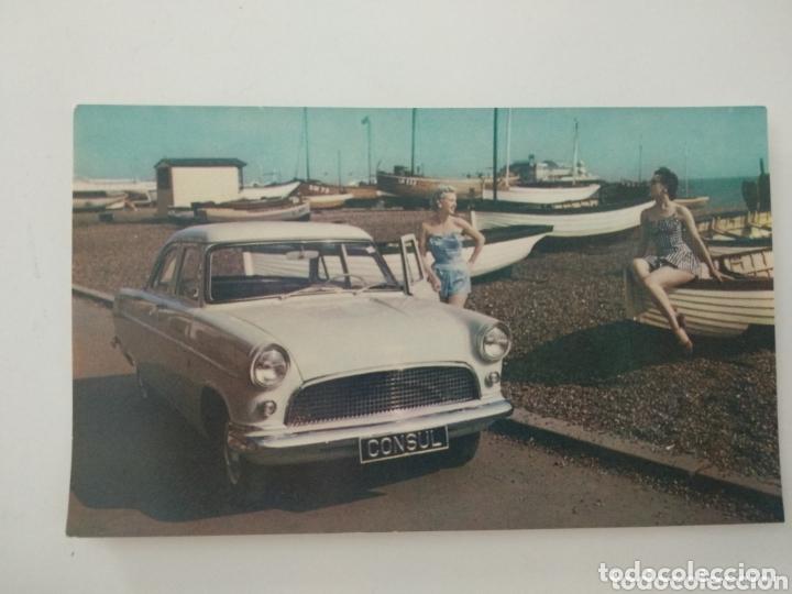 POSTAL FORD CONSUL (Postales - Postales Temáticas - Coches y Automóviles)