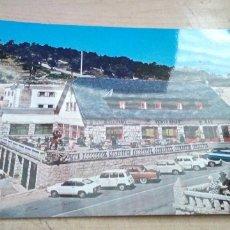 Postales: POSTAL DE 1969 DE EDICIONES VISTABELLA CON VARIOS COCHES DE LA EPOCA EN APARCAMIENTO. Lote 173410724