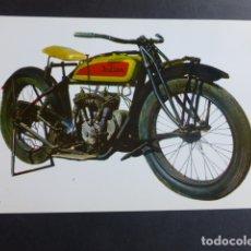 Postales: MOTO INDIAN POSTAL AÑOS 60-70. Lote 173449425