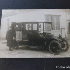 Postales: AUTOMOVIL BERLIET MATRICULA MADRID 1230 POSTAL FOTOGRAFICA HACIA 1910. Lote 174541193