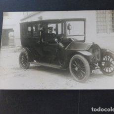 Postales: AUTOMOVIL BERLIET MATRICULA MADRID 1230 POSTAL FOTOGRAFICA HACIA 1910. Lote 174541220