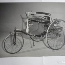 Postales: POSTAL 18 X 12 BENZ PATENT MOTORWAGEN -1886 EDIC.ESPECIAL EXCLUSIVA MERCEDES BENZ. Lote 175278392