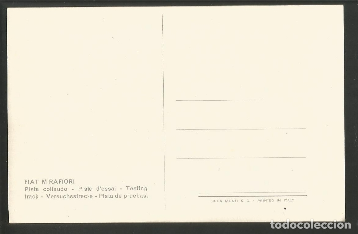 Postales: FIAT MIRAFIORI-POSTAL PUBLICITARIA COCHE-VER REVERSO-(61.969) - Foto 2 - 175541850
