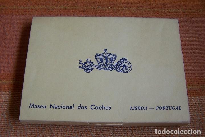Postales: 34 POSTALES DEL MUSEO DE COCHES DE LISBOA, PORTUGAL. EN SU CAJA ORIGINAL. - Foto 2 - 176643633
