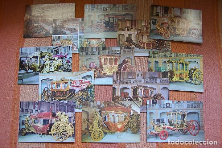 Postales: 34 POSTALES DEL MUSEO DE COCHES DE LISBOA, PORTUGAL. EN SU CAJA ORIGINAL. - Foto 3 - 176643633